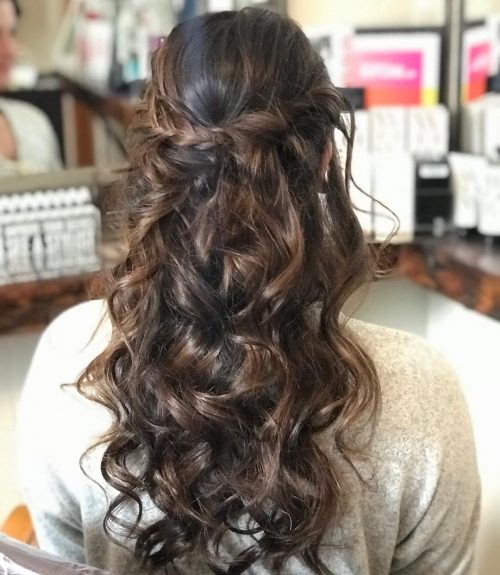 hair up styles for party 50 hairstyles that are amp chic updated for 2018 3280 | curled and braided party hairstyles 500x575