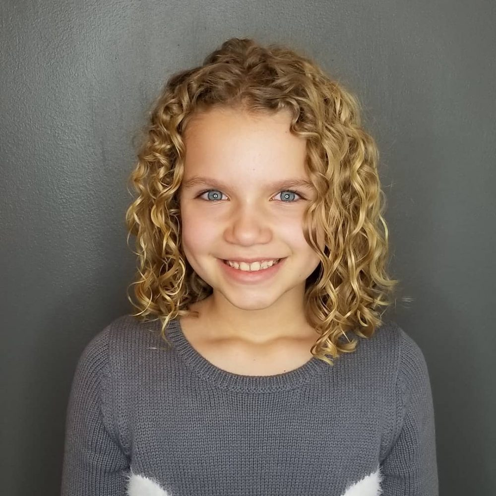 11 Cutest Hairstyles for Curly Hair Girls - Little Girls, Toddlers