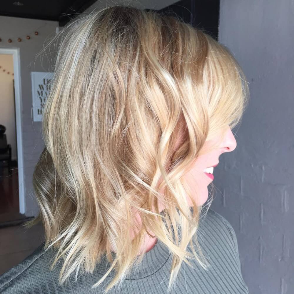 Feminine Bob hairstyle