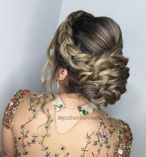 37 Curly Updos For Curly Hair See These Cute Ideas For 2019