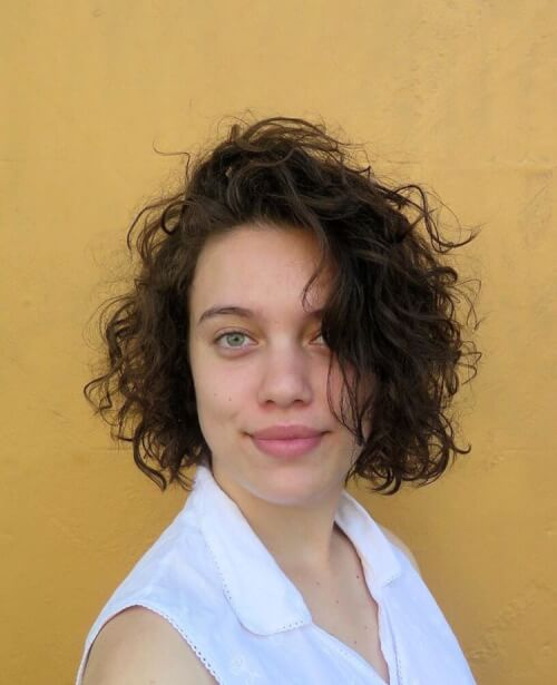 Playfully Soft Twist Curly Short Hair