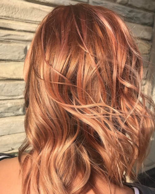 Rose Blonde hairstyle
