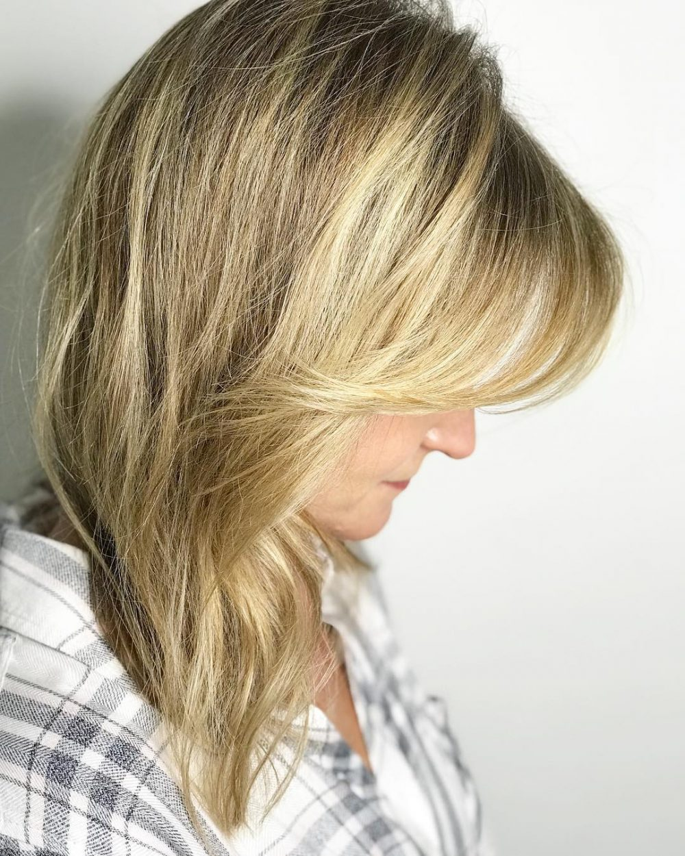 Customizeable Side-Swept Bangs hairstyle