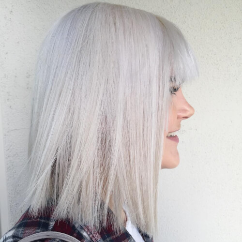 Cute Hairstyles: The Icy Blunt Bob
