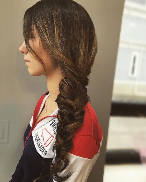 cute boho vibe hairstyle