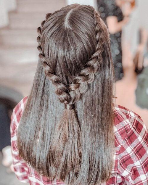 28 Sleek Hairstyles For Straight Hair Trending In 2020