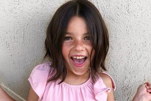Cute short haircuts for little girls