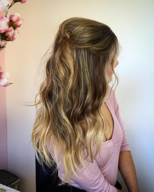 cute summer spring hairstyle