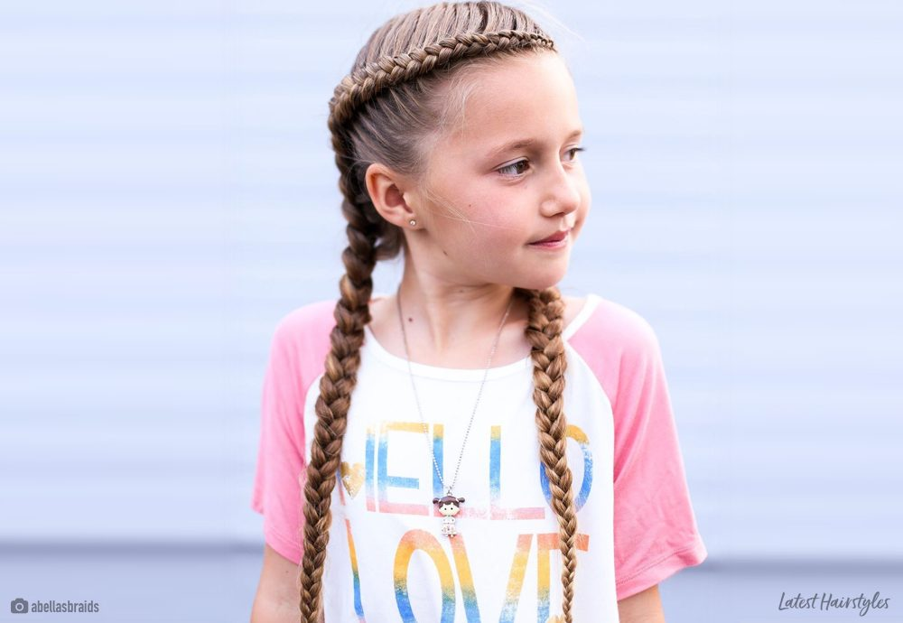 18 Cutest Braid Hairstyles For Kids Right Now