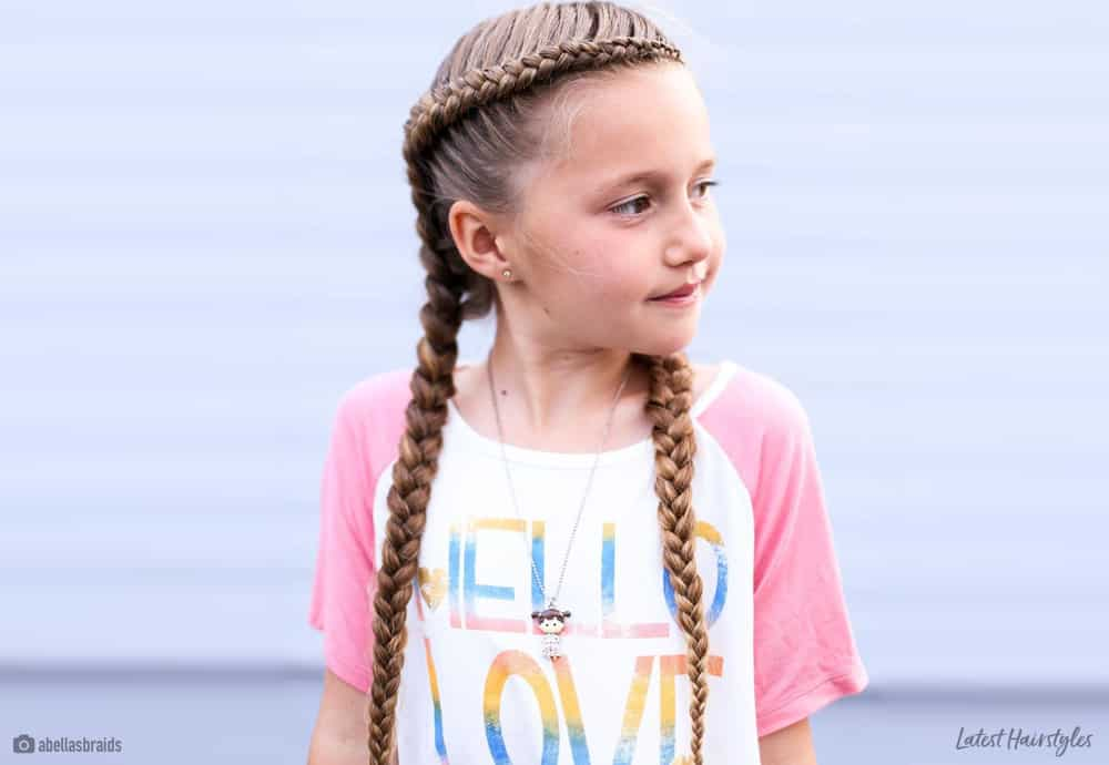 Long Hair Easy Cute Hairstyles For Little Girls 94