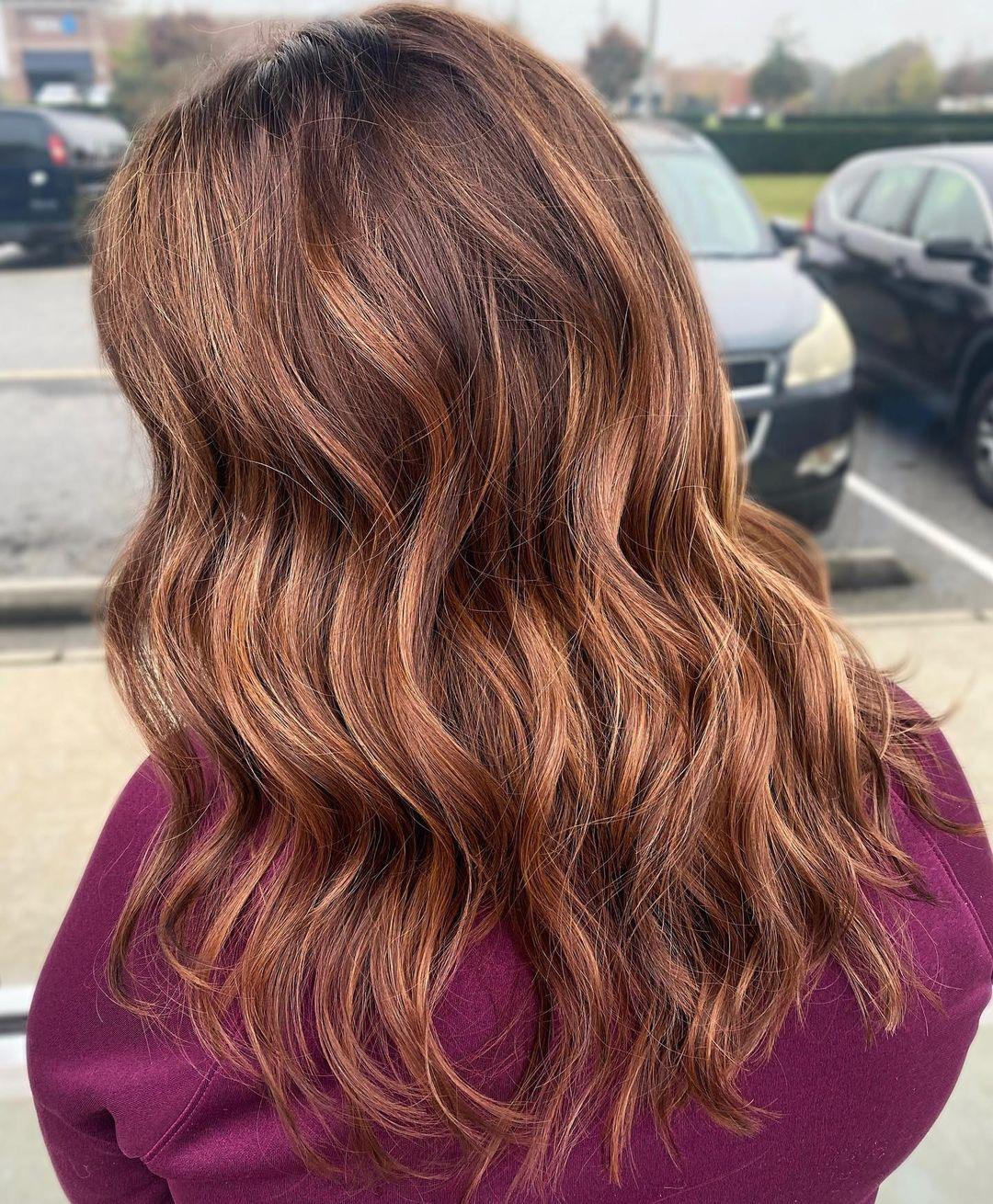 15 Dark Auburn Hair Color Ideas Trending in 15
