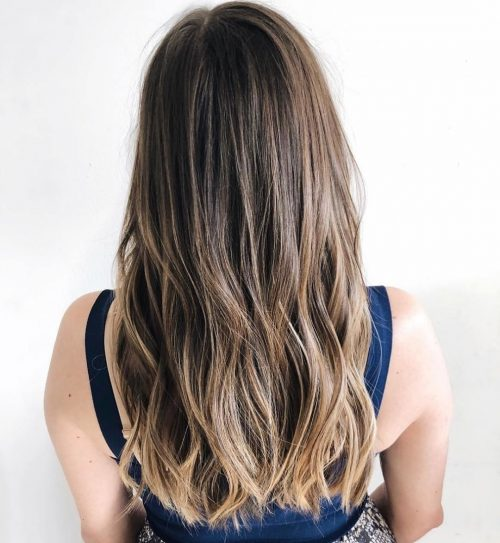 Dark Blonde Tips