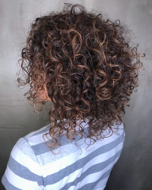 25 Best Shoulder Length Curly Hair Cuts Amp Styles In 2020