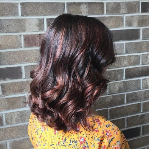 24 Hottest Dark Auburn Hair Color Ideas Of 2019