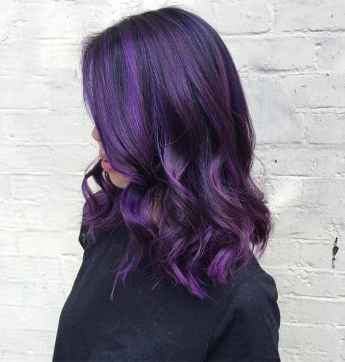16 Plum Hair Color Ideas That Are Trending In 2020