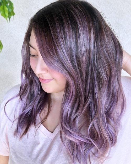 19 Stunning Dark Purple Hair Color Ideas Trending In 2020