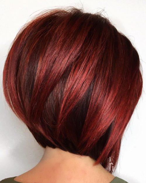 Capas rojo oscuro