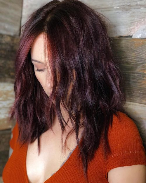 Top 30 Stunning Burgundy Hair Color Shades Of 2020