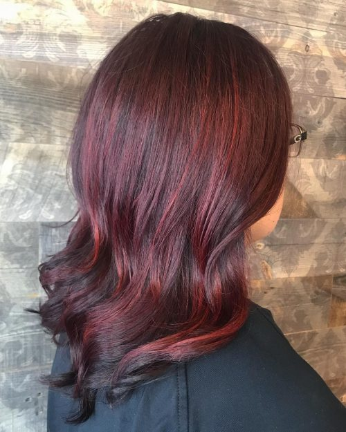 Red Balayage Hair Colors 19 Hottest Examples for 2019