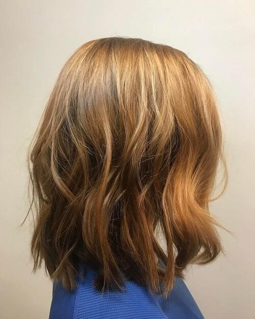 dark strawberry blonde hair