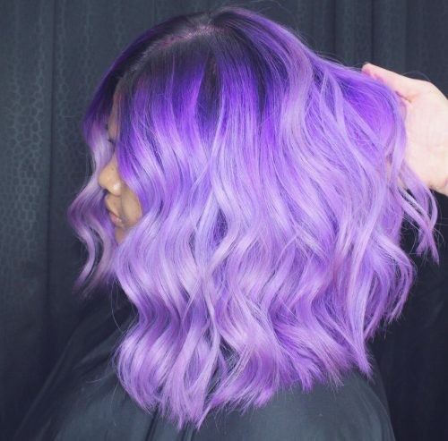 Top 13 Pastel Purple Hair Color Ideas