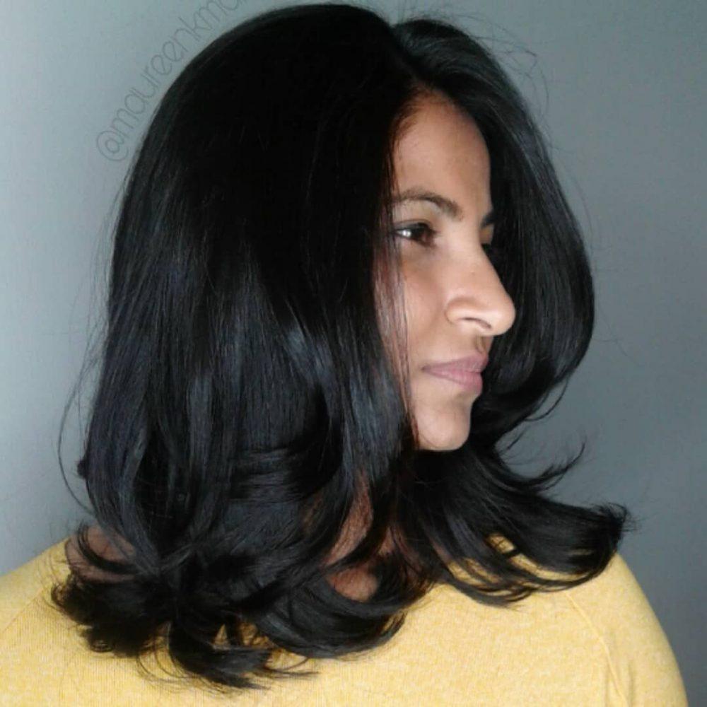 Darkest Brunette hairstyle