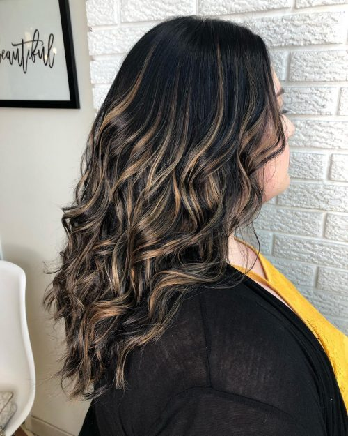 Stunning Examples Of Caramel Balayage Highlights For 2019