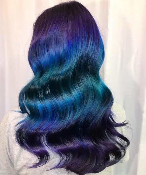 23 Incredible Ways To Get Galaxy Hair In 2020
