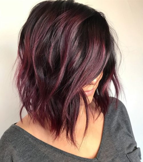 15 Best Maroon Hair Color Ideas Of 2019 Dark Black Ombre Colors