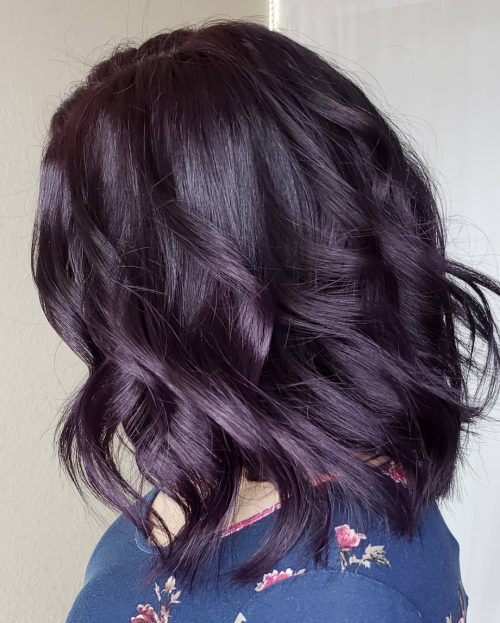 16 Plum Hair Color Ideas That Are