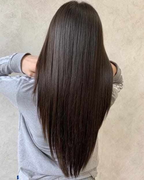 17 V Cut On Long Hair Ideas Trending In 2021 For That V Shape Look