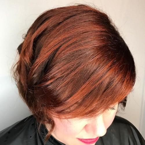 19+ Auburn Hair Color Ideas in 2018 for Red-Brown Hair