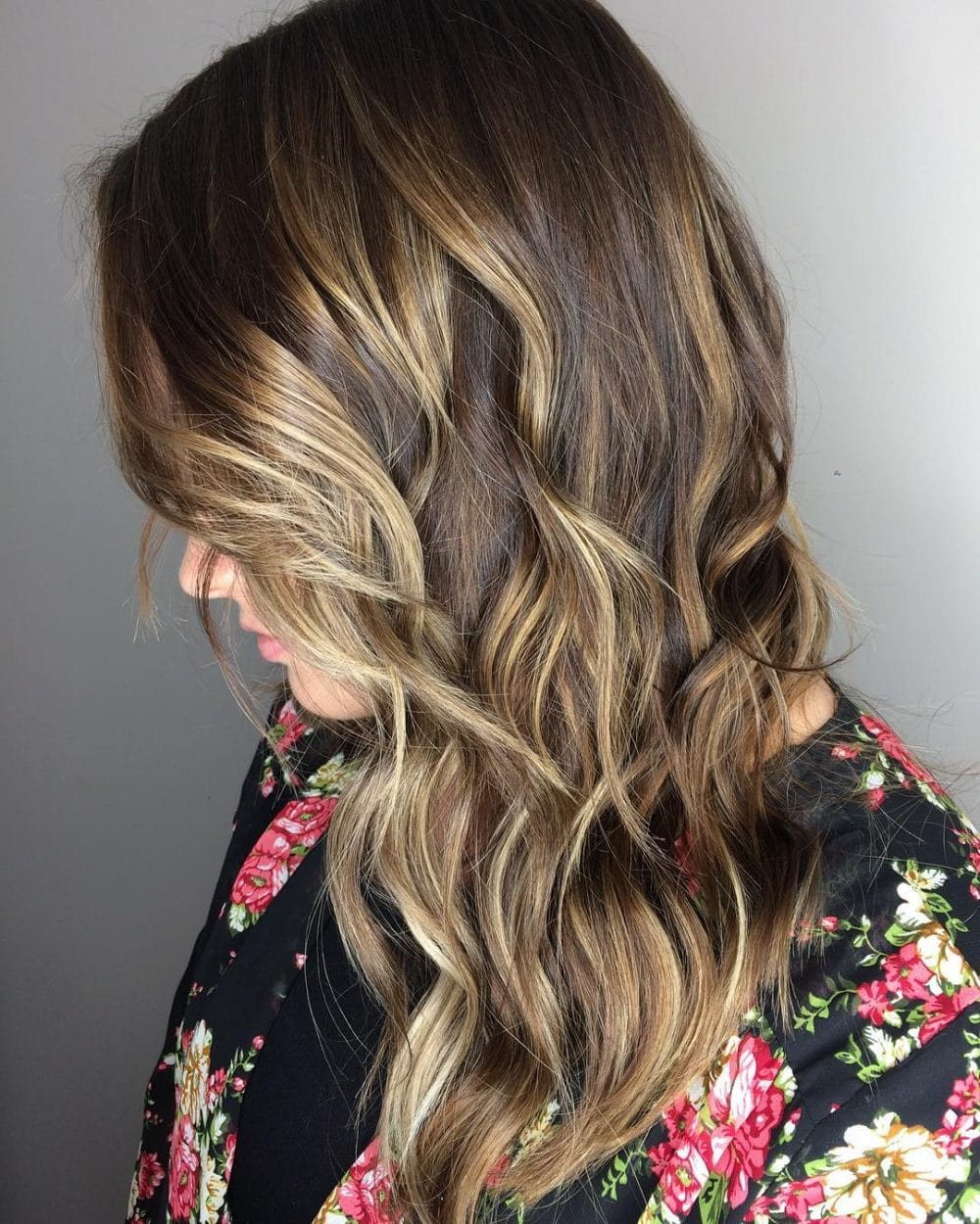 Dimensional Balayage hairstyle
