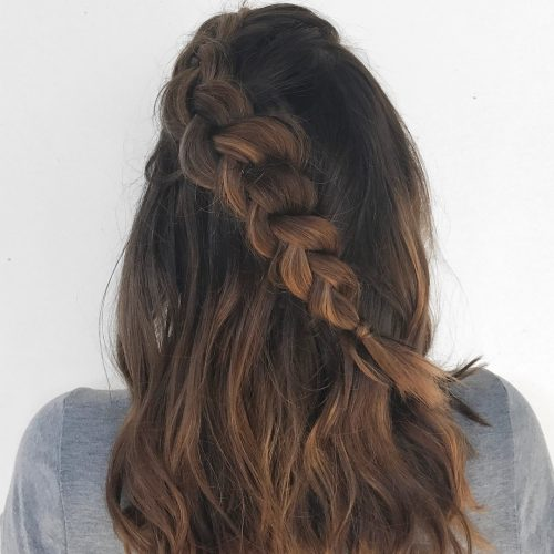 Dimensional Braid hairstyle