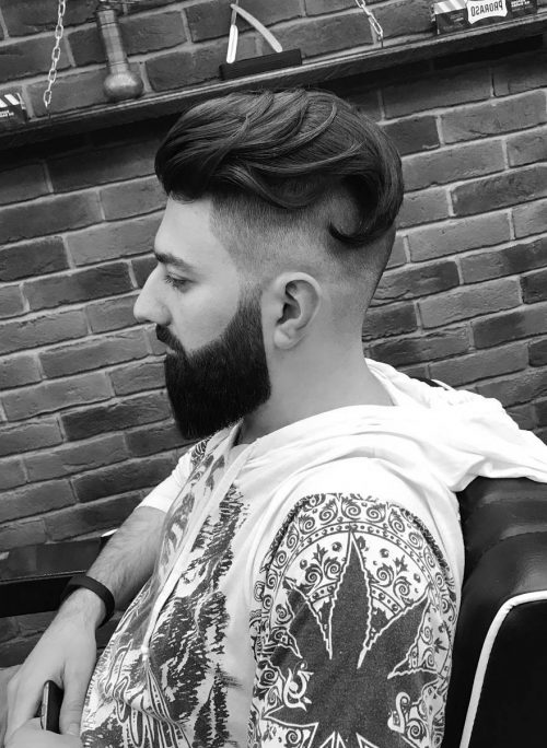 How To Cut Men S Faded Bottom With Disconnected Top Youtube
