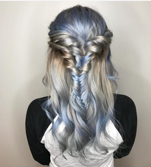 disney elsa balayage hair color