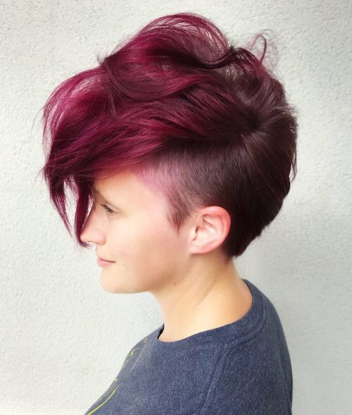 18 Punk Hairstyles For Women Trending In 2020