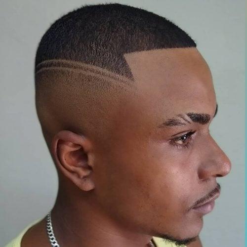 double lineup haircut