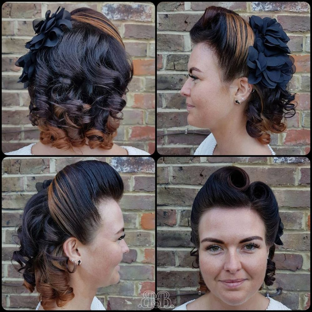 Double Victory Roll hairstyle