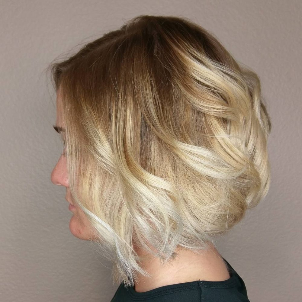 Dramatic Ombre Balayage hairstyle