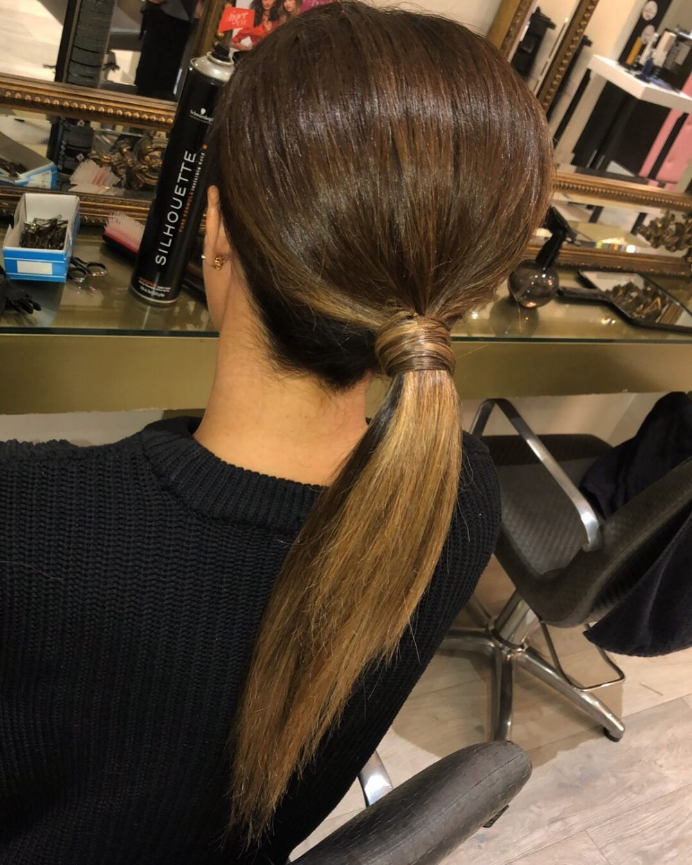 Dressy Casual Ponytail hairstyle