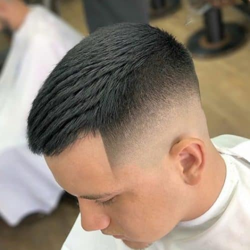 Drop Fade for Short Hair