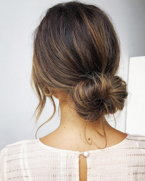16 Cute Easy Bun Hairstyles To Try In