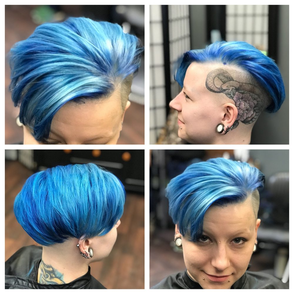 Edgy & Eccentric hairstyle
