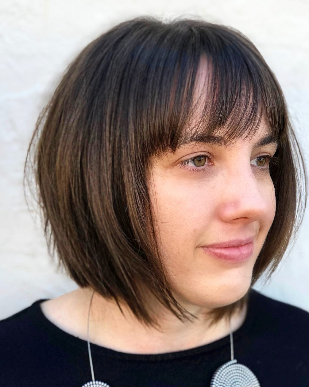 Edgy Deconstructed Bob hairstyle