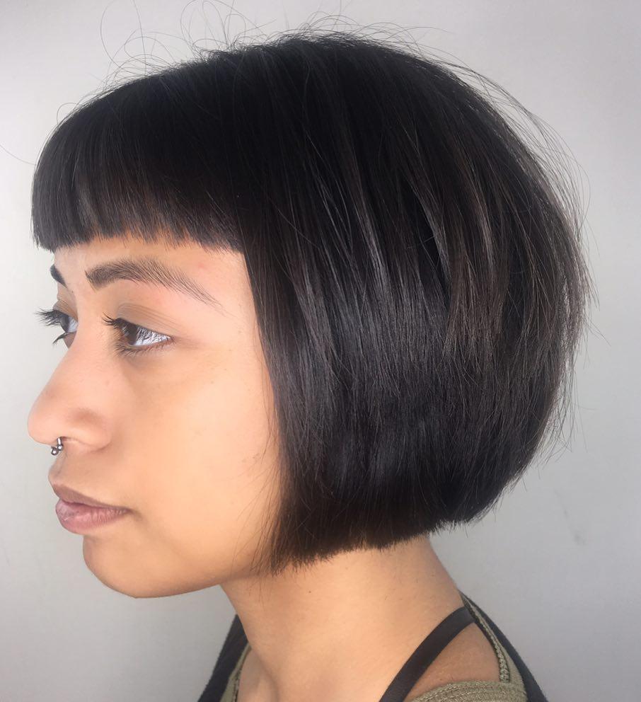 Edgy Fringe hairstyle