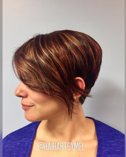 edgy long pixie women over 50