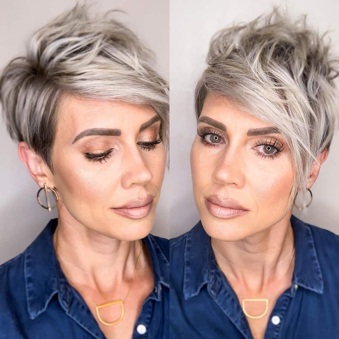 42 Sexiest Short Hairstyles For Women Over 40 In 2020