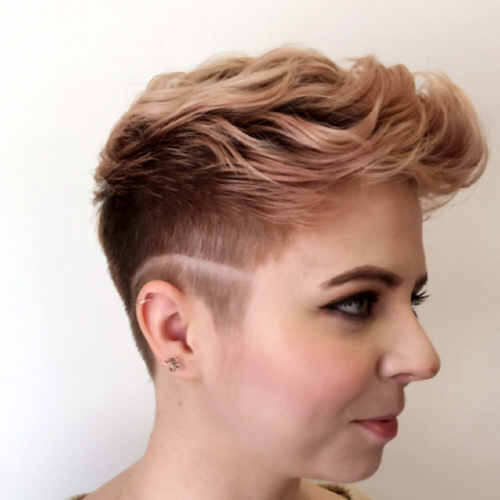 Pixie With an Edge hairstyle