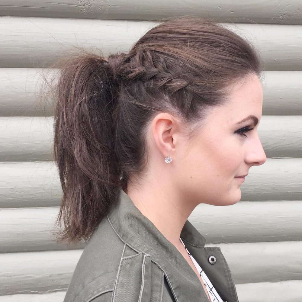 Edgy Ponytail hairstyle